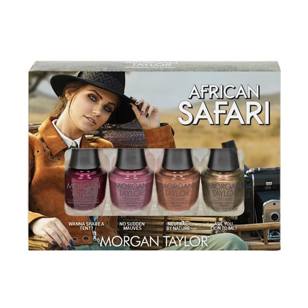 Morgan Taylor 4-piece Mini Nail Polish Kit African Safari. Opens flyout.