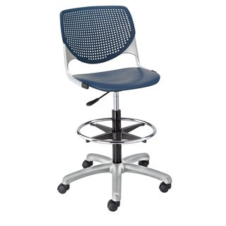 KFI KOOL Poly Adjustable Drafting Stool