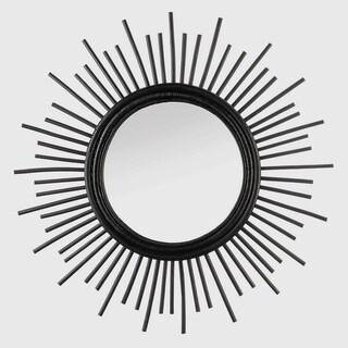 Jasmine Black Starburst Wall Mirror