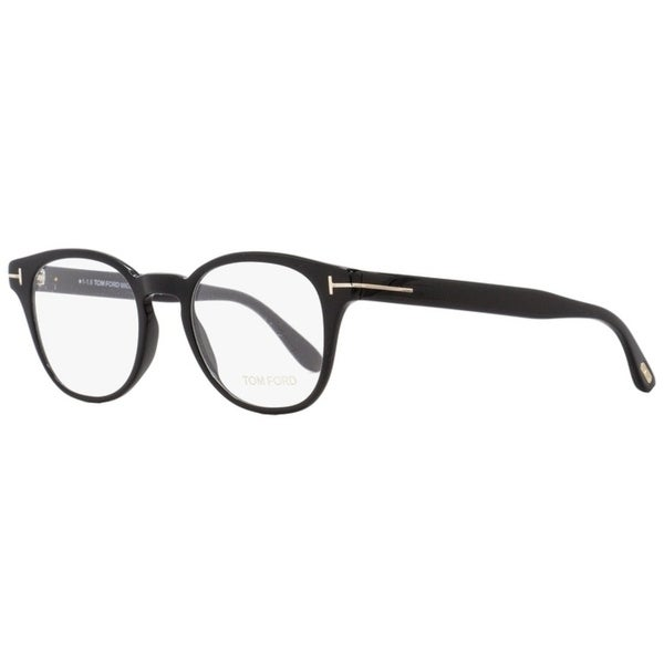 52ccefd6c1e50 Shop Tom Ford TF5400 001 Mens Black 48 mm Eyeglasses - Free Shipping Today  - Overstock - 27100285