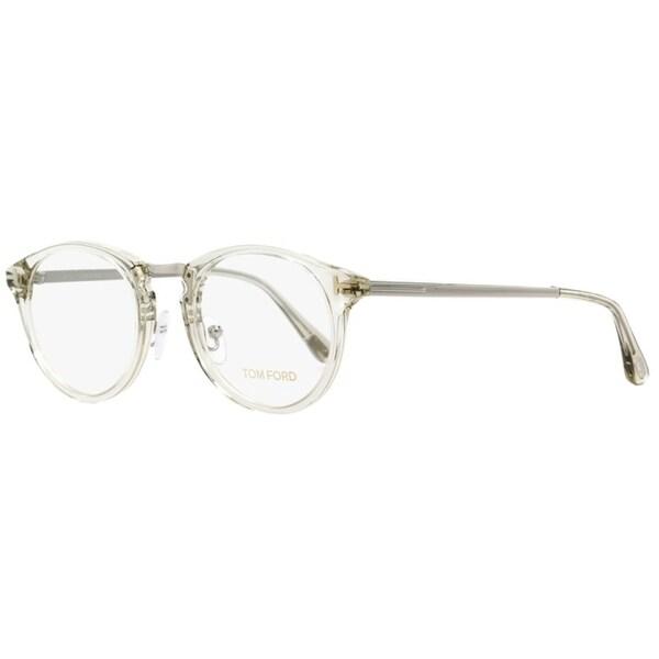2ad01d961 Tom Ford TF5467 020 Unisex Transparent/Palladium 50 mm Eyeglasses