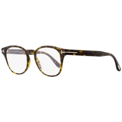 Tom Ford TF5400 052 Mens Dark Havana 48 mm Eyeglasses - Dark Havana