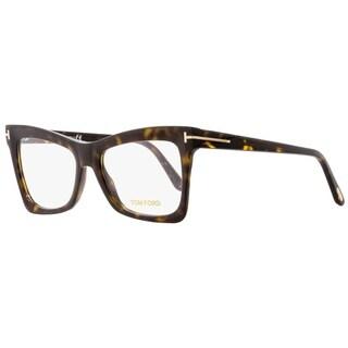 Tom Ford TF5457 052 Womens Matte/Shiny Havana 52 mm Eyeglasses - Matte/Shiny Havana