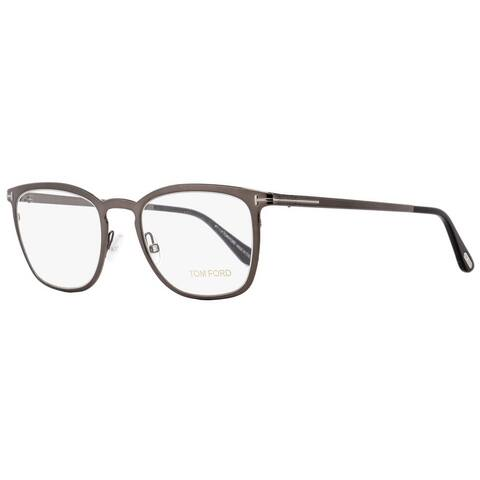 f9fac9dea504 Tom Ford TF5464 012 Mens Shiny Dark Ruthenium 51 mm Eyeglasses - Shiny Dark  Ruthenium