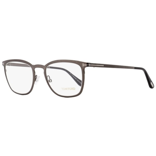 8bc75c6c098 Shop Tom Ford TF5464 012 Mens Shiny Dark Ruthenium 51 mm Eyeglasses - Shiny  Dark Ruthenium - Free Shipping Today - Overstock - 27100297