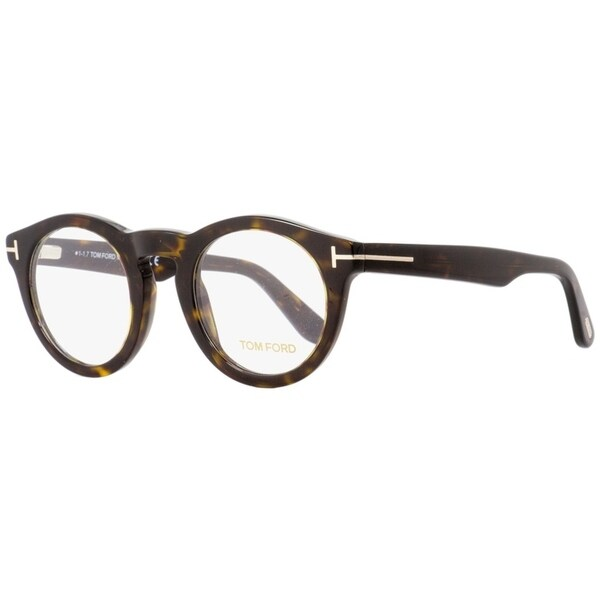 ca6010dbc628 Shop Tom Ford TF5459 052 Unisex Dark Havana 48 mm Eyeglasses - Dark ...