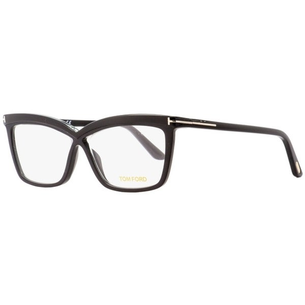 95a1b011062 Shop Tom Ford TF5470 001 Womens Black 55 mm Eyeglasses - Free Shipping  Today - Overstock - 27100309