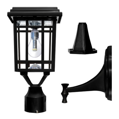 Havenside Home Grayton Bulb Solar Light with GS LED Light Bulb