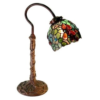 Tiffany-style Grape Desk Lamp