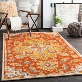 Embla Handmade Traditional Wool Area Rug