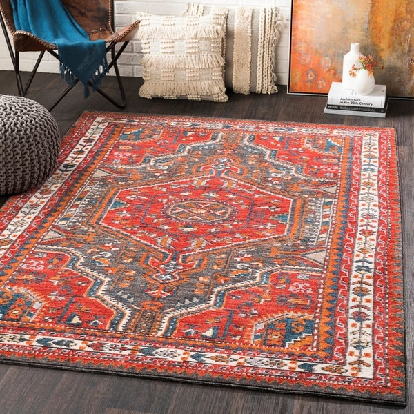 Leolin Updated Traditional Area Rug