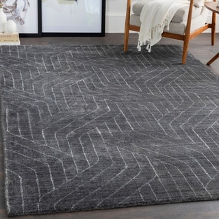 Wallace Viscose Modern Area Rug