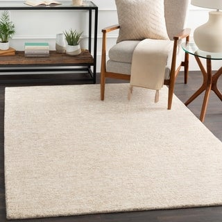 Porch & Den Aster Wool/Viscose Modern Area Rug