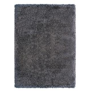 "Laura Ashley Luxury Gray Shag Area Rug (9'5"" x 13') by Gertmenian"