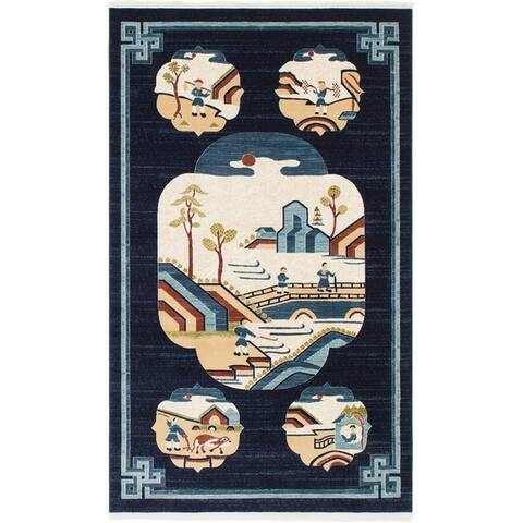 Unique Loom Gansu Journey Area Rug