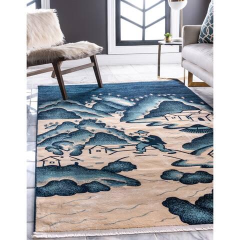 Unique Loom Gansu Village Area Rug