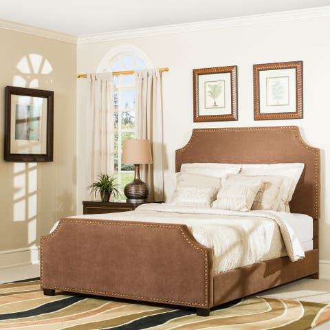 Brooks King Bedset in Cocoa Microfiber