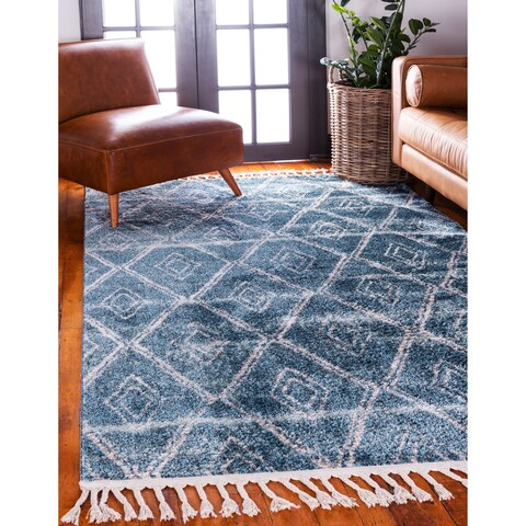 Carson Carrington Faglekarr Unique Loom Titan Diamond Area Rug