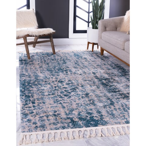 Unique Loom Titan Fractal Area Rug