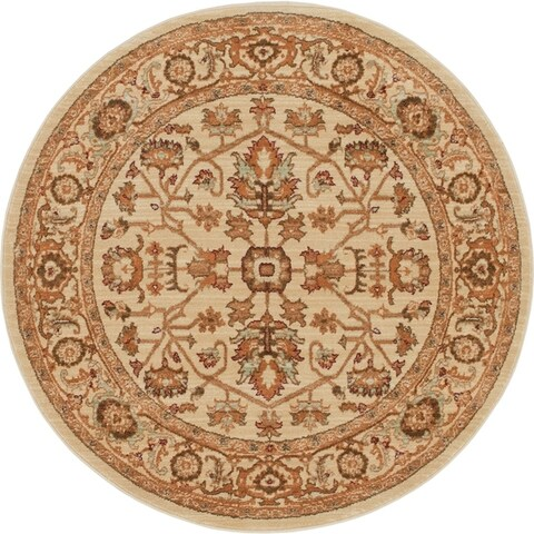 Copper Grove Jermuk Crimson Area Rug