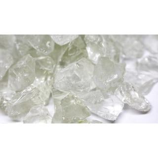 "1 1/2"" Ice Fireglass Rocks- 10lb box"