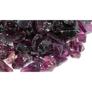 20-30mm Purple Fireglass Rocks- 10lb box