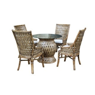 Panama Jack Old Havana 6 PC Dining Set with Cushions