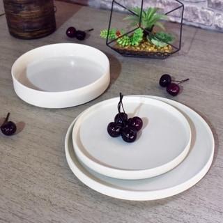 222 Fifth Kaden White 12 Piece Dinnerware Set, Service for 4