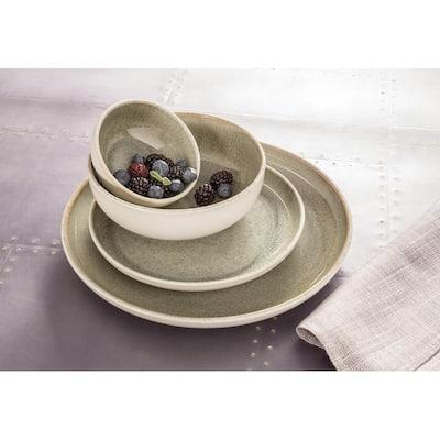 Sango Resona Moss 16 Piece Dinnerware Set, Service for 4