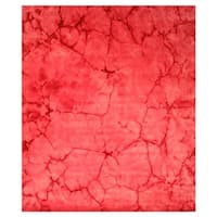 Pink Contemporary Dip Dyed Rug - 9' x 12'