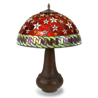 Link to Tiffany-style Red Star Table Lamp Similar Items in Table Lamps