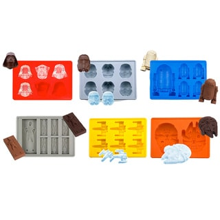 Link to 6pc Star Wars Silicone Ice Tray and Chocolate Mold Collection Similar Items in Action Figures