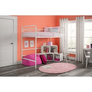 Avenue Greene Kate Twin Metal Loft Bed