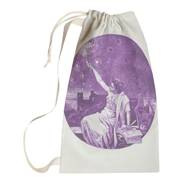 Katelyn Smith Purple Vintage Goddess Laundry Bag