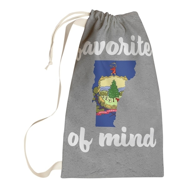 Katelyn Smith Vermont State of Mind Laundry Bag