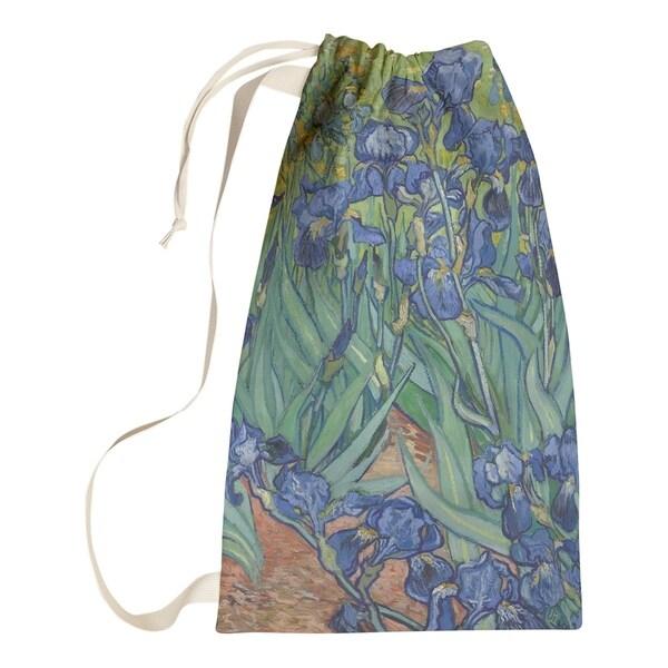 Vincent Van Gogh Irises Laundry Bag