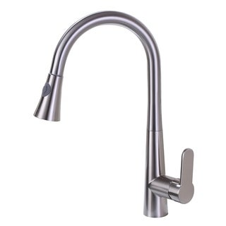 Vanity Art  Pull out kitchen faucet, brushed nickel