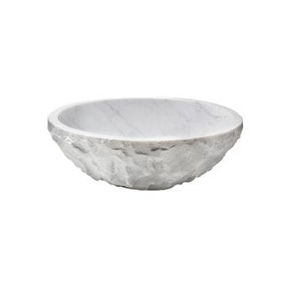 Link to Novatto Carrara Marble Stone Vessel Sink with Chiseled Exterior Similar Items in Safety Gear