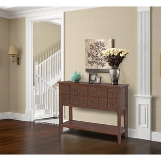 Catalog Two Drawer Two Door Console