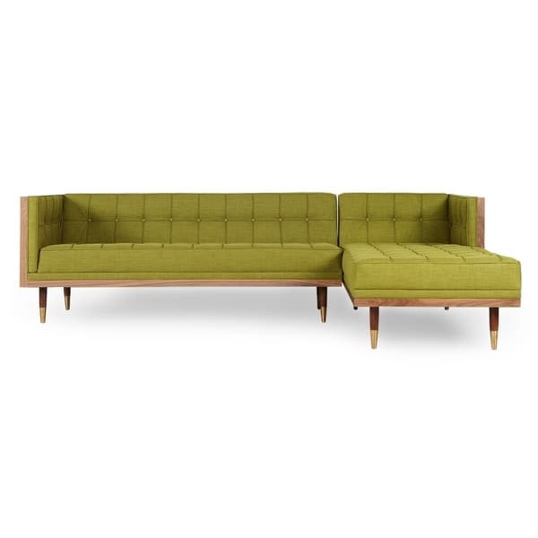 Pleasant Shop Kardiel Woodrow Mid Century Modern Box Sofa Sectional Ibusinesslaw Wood Chair Design Ideas Ibusinesslaworg