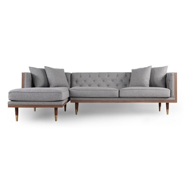 Kardiel Woodrow Neo Mid-century Modern Sofa Sectional
