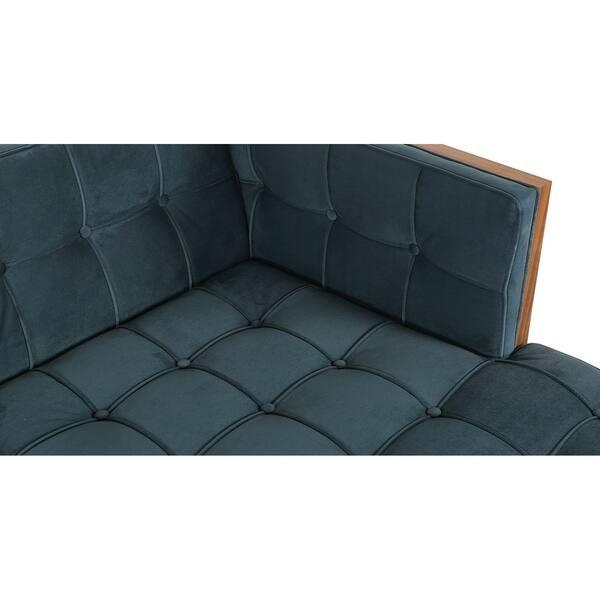 Superb Shop Kardiel Woodrow Box Mid Century Modern Sofa U Sectional Cjindustries Chair Design For Home Cjindustriesco