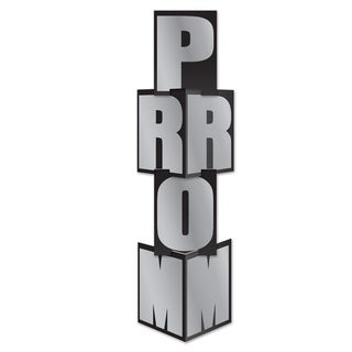 """Beistle 12"""" x 3' 9"""" Novelty Prom Party Column - 6 Pack (4/Pkg)"""