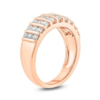 Cali Trove 1ct TDW Diamond Fashion Ring In 10kt White Yellow Rose Gold