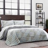Eddie Bauer Cannon Beach Blue Quilt Set