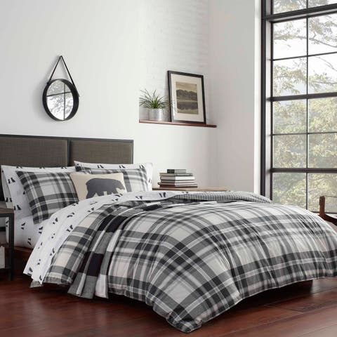 Eddie Bauer Coal Creek Plaid Comforter Set