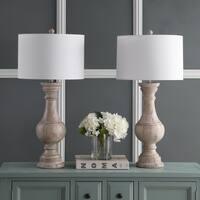 Safavieh Lighting 31-inch Savion White LED Table Lamp (Set of 2)