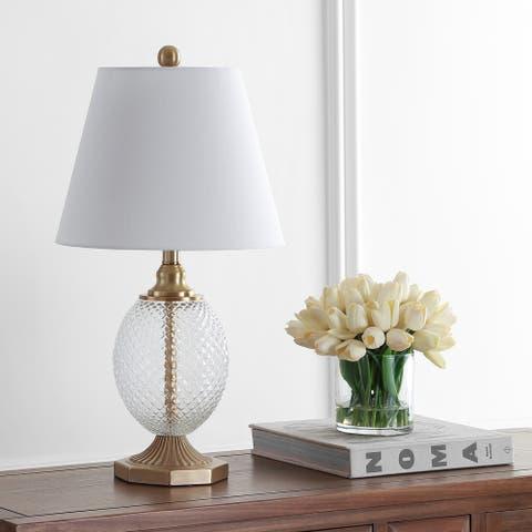 "Safavieh Lighting 24-inch Kaiden LED Table Lamp - 13""x13""x24"""