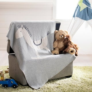 """Safavieh Baby Collection Tater Trot Throw - 2'8"""" x 3'4"""""""
