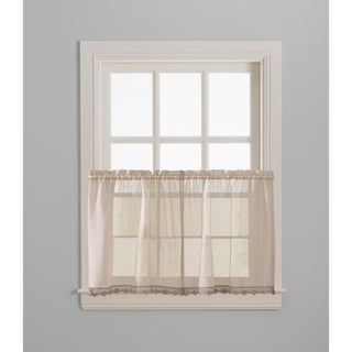 Leanne Tailored Valance and Tier Curtain Collection